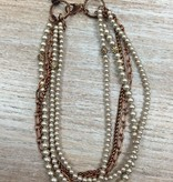 Jewelry Cooper & Pearl Necklace