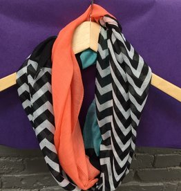 Scarf Color Block Infinity Scarf