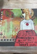 "Decor Full Breath of Poss. Wall Art 16"""