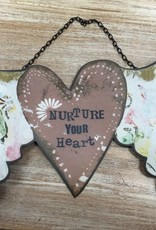 Decor Nurture Your Heart Wall Art