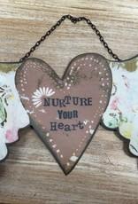 Decor Nurture Your Heart Wall Art