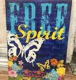 Decor Free Spirit Wall Art 14x20