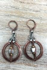 Jewelry Circle w/ Bead Earring