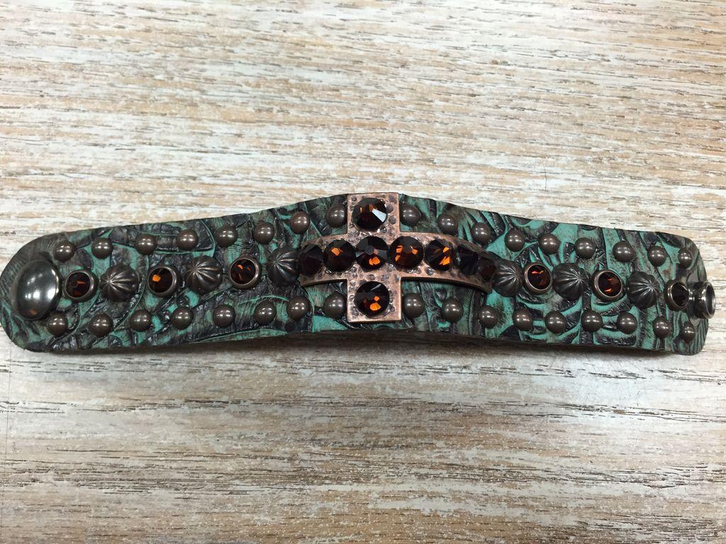 Jewelry Rhinestone Snap Bracelet