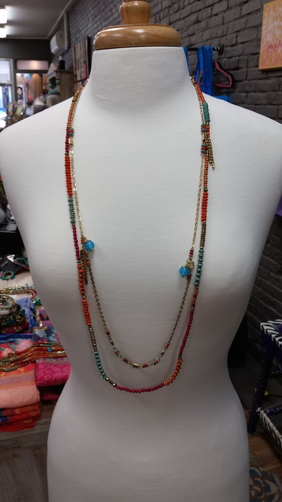 Jewelry Beads & Chains Long Necklace