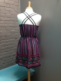 Dress Strappy Scoop Dress