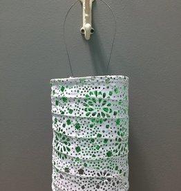 Decor Solar Lantern- Neon Green
