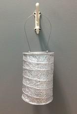 Decor Solar Lantern- Silver