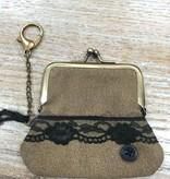 Bag Lace Coin Clip