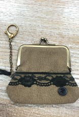 Bag Lace Coin Clip