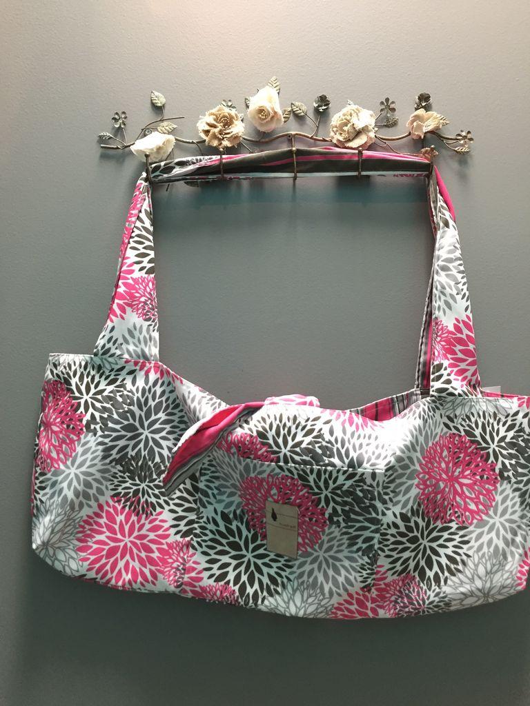 Bag Flipped Bird- Yoga