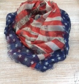Accessory Stars and Stripes Square Scarf
