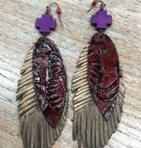 Jewelry Feather Earrings