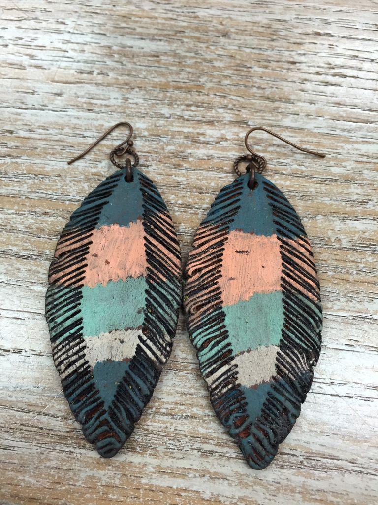 Jewelry Clay Earrings