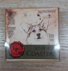 Kitchen Corgi Coaster Set of 4