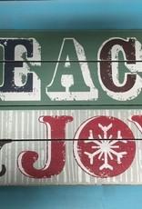 Art Peace & Joy Wall Art 13.5x22.5