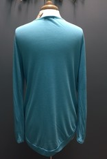 Long Sleeve Teal LS Cowgirls Don't Cry
