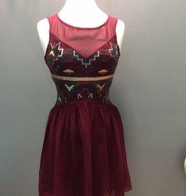 Dress Burg Sweetheart Sequin Dress