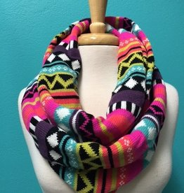 Scarf Neon Nordic Infinity Scarf