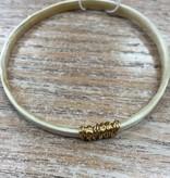 Jewelry Golden Horn Bangle 2