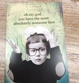 Card Awesome Face