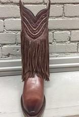 Boot Choco Fringe & Whip Stitch Boots