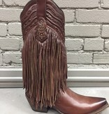 Boot Choco Fringe & Whip Stitch Boots