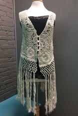 Vest Natural Crochet Vest