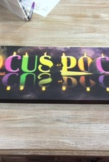 Decor Hocus Pocus Lighted Canvas