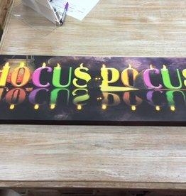 Decor Hocus Pocus Lighted Canvas