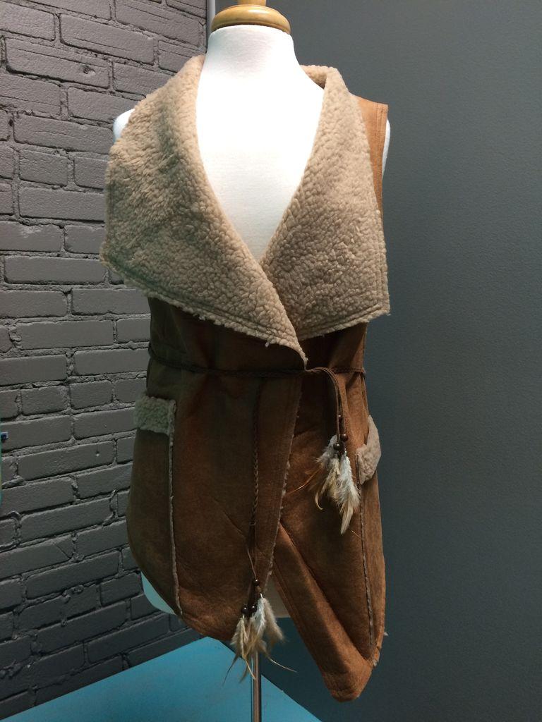 Vest Camel Tie Vest