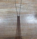 Jewelry Copper Fringe Necklace