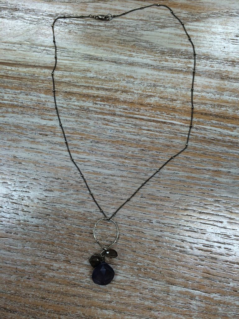 Jewelry Smoky Quartz Necklace