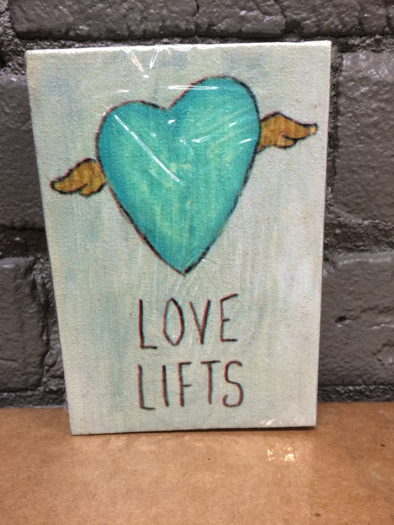 Decor Love Lifts Wooden Sign
