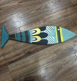 Decor Big Reclaimed Wood Fish