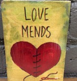 Decor Love Mends Wooden Sign