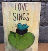 Decor Love Sings Wooden Sign