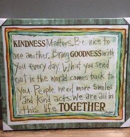 Decor Kindness Matters Wall Art