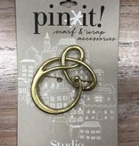 Accessory Gold Loop Pin