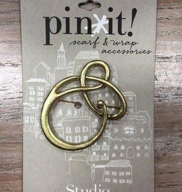 Accessory Gold Loop Pin