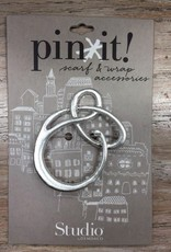 Accessory Silver Loop Pin