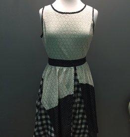 Dress Lace Multi Print Dress w/ Bows