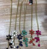 Jewelry Flower Necklace