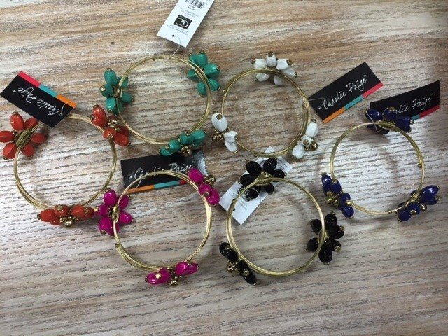 Jewelry Flower Bangle