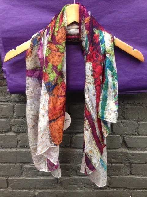 Scarf Tree With Birds Square Scarf