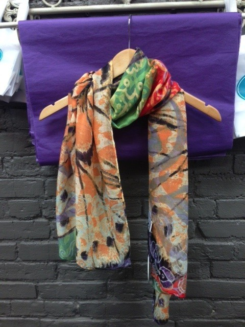 Scarf Yellow Butterfly Rectangle Scarf