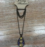 Jewelry Bullet Teardrop Necklace