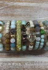 Jewelry Mint Color Story Stick Bracelets