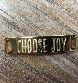 Jewelry Refined Sentiment Choose Joy Gold