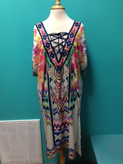 Dress Slit Sleeve Dress